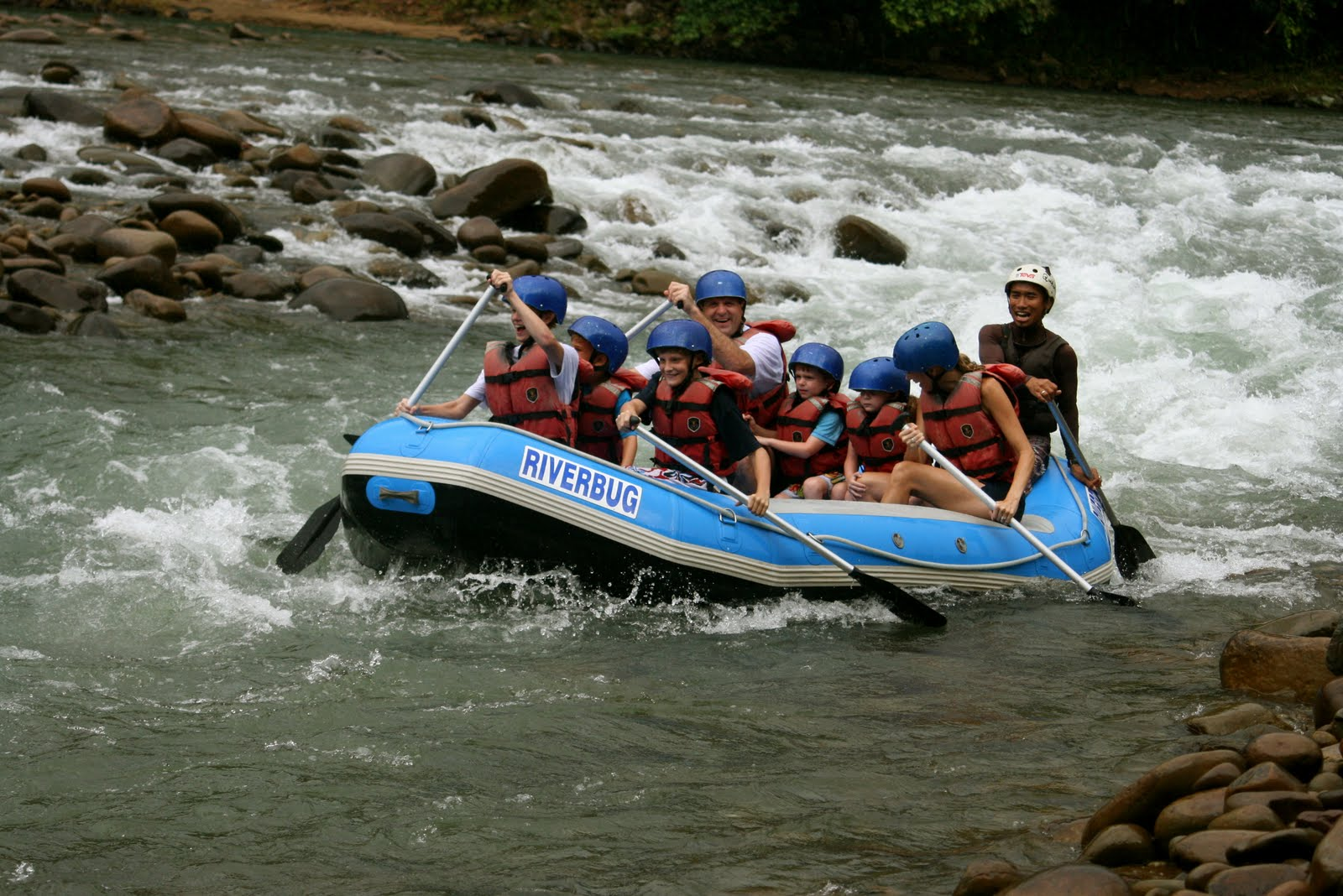 Kiulu White Water Rafting ~ Level 1-3 (Beginner)